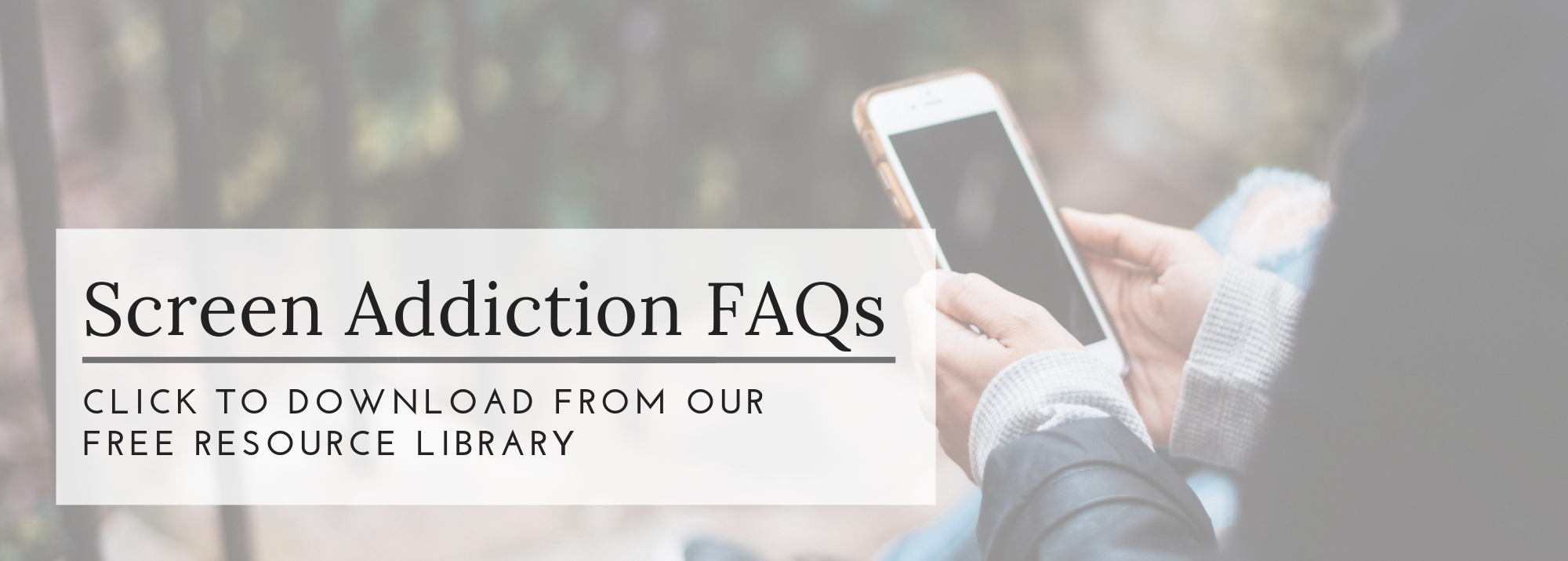 screen addiction faqs